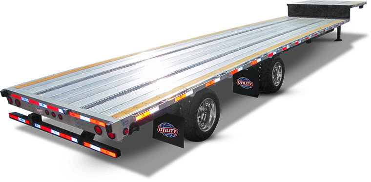new utility trailer 4000AE drop deck